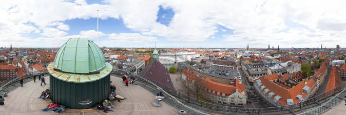 Panorama from Rundetaarn, Copenhagen