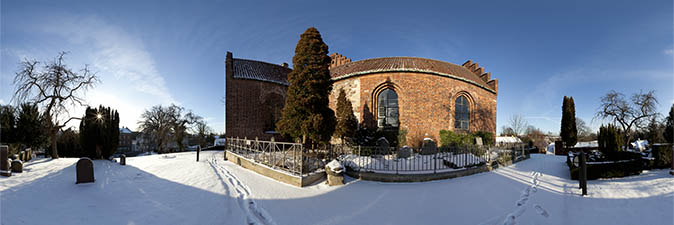 Panorama from Lyngby Kirke, Lyngby