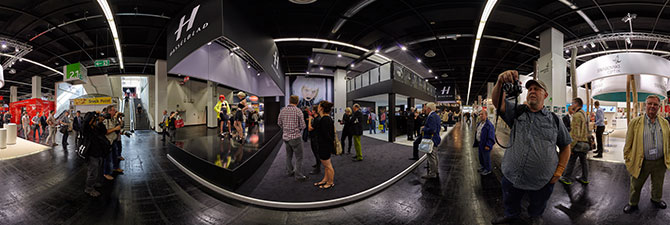 Panorama from Photokina
